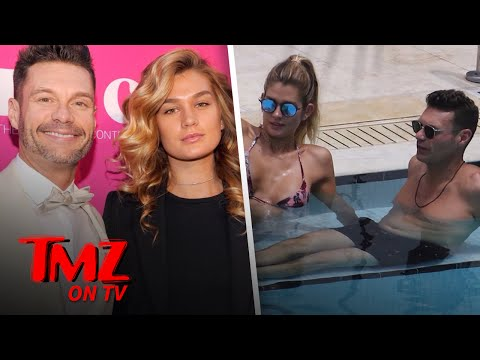 Ryan Seacrest Enjoys PDA with Girlfriend Shayna Taylor Poolside in Miami | TMZ TV
