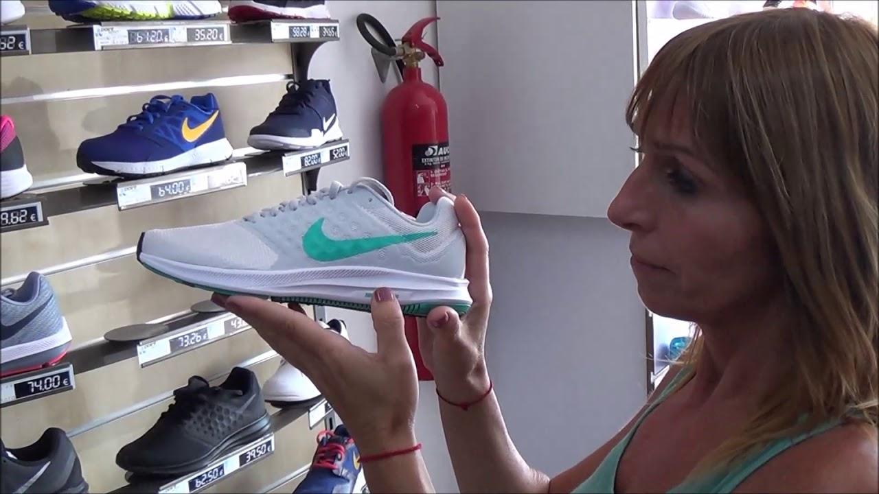 escapar granero Finalmente  Mujer Nike Downshifter 7 | Nike Downshifter 2017 - 2018 Valencia - YouTube