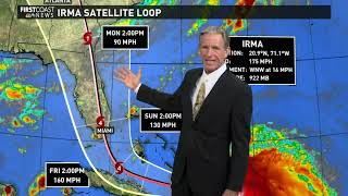 Tracking Irma: Sept. 7, 2017 at 5 p.m.