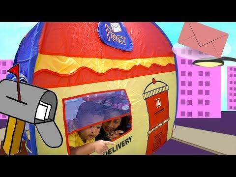 Tenda mainan anak serba guna | Kids play tent for post and cash register