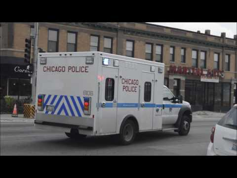 Chicago Police Department: Paddy Wagon 6106 Arriving