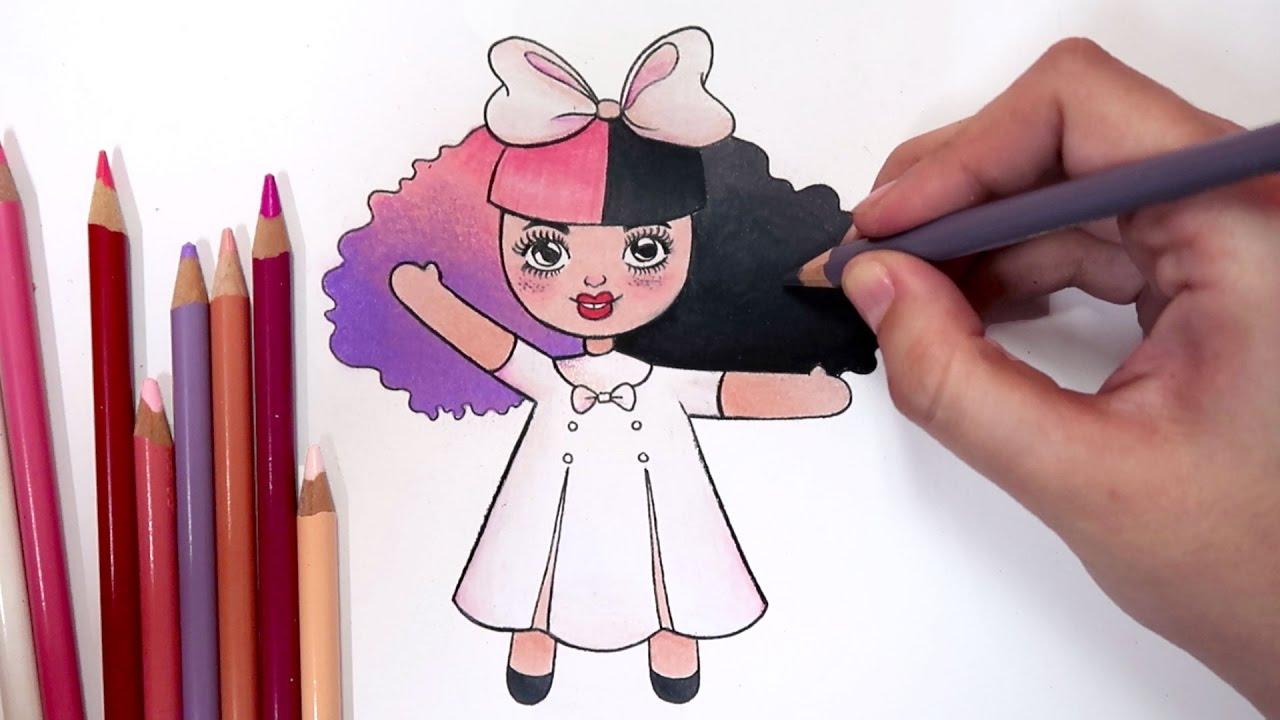 Como Desenhar Bonequinha Melanie Martinez Dollhouse Tumblr
