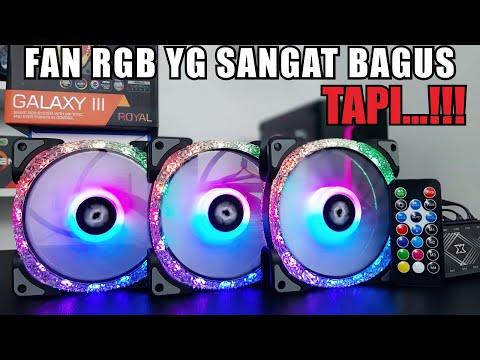 Fan RGB Yang Sangat Bagus TAPI..... Review Xigmatek Galaxy III Royal