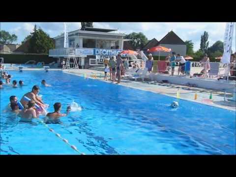 piscine en folie buzancais 7 juillet 2012 YouTube