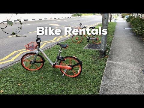 Bike Rentals in Singapore