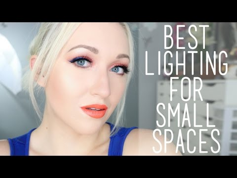 How to get the BEST Lighting for YouTube & Instagram for Small Spaces