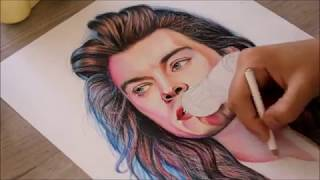 Drawing Harry Styles