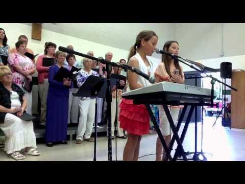 Faith and Chloe Leithold at 9th Gospel Extravaganza