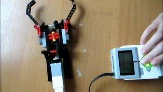 Подъемный механизм. Lego Mindstorms Ev3