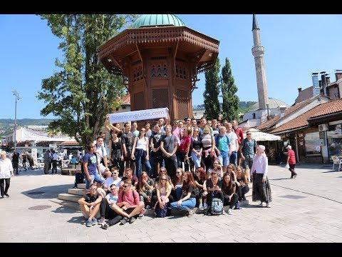 Slovenian Students TOUR in Sarajevo