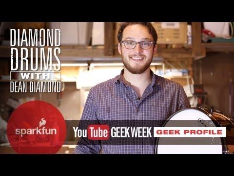 SparkFun Geek Week Profile: Diamond Drums