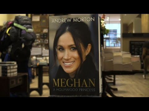 New Meghan Markle biography on sale in UK