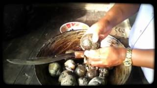 preparing kambu ay for dinner agusan marsh agusan del sur
