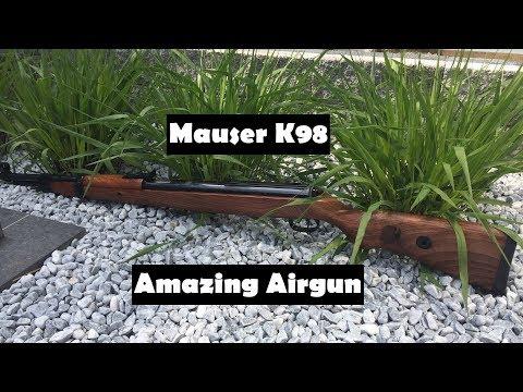 Mauser K98 Luftgewehr made by Diana - Review und Schusstest