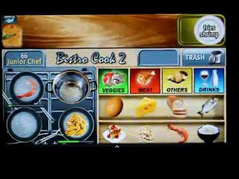Bistro Cook 2 - Android game