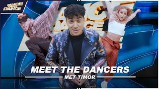 TIMOR STEFFENS introduceert de DANSERS uit DANCE DANCE DANCE // DDD //