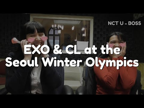 EXO's Biggest Fan at the Winter Olympics