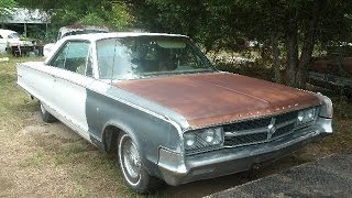 1965 Chrysler 300 L, Very Solid, Runs, For Sale, $4000, Call 1-864-348-6079