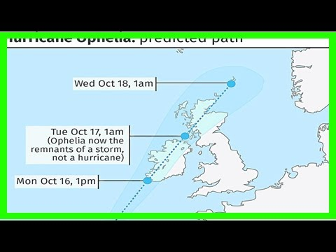 Breaking News   Ophelia the awful on way to batter coastal regions   press and journal