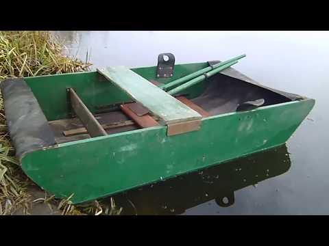 Самодельная лодка или клёва не будет
