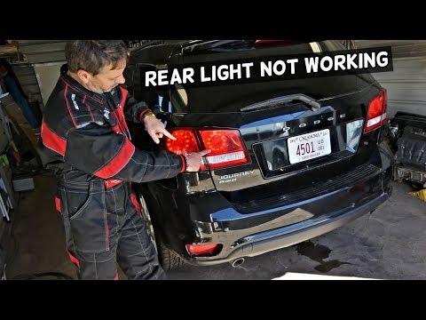 DODGE JOURNEY REAR TAIL LIGHTS DO NOT WORK. BRAKE LIGHT OUT.  FIAT FREEMONT