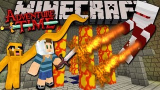Minecraft: Adventure Time with Jake! The Lost Potato - Ep.2 - Fire Fiends