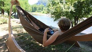 Tv-klip: Anne-Vibeke Rejser - Ardèche, Frankrig - Ankomst til Camping Nature Parc L'Ardèchois