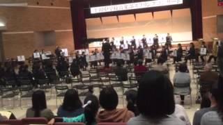 平田中学校音楽部スプリングコンサー