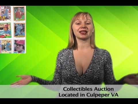 Collectibles Auction in Culpeper VA