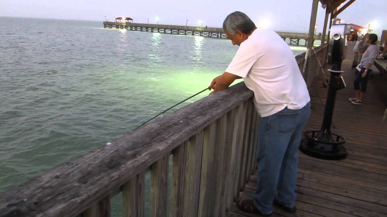 Pirates landing fishing pier youtube for South padre fishing report
