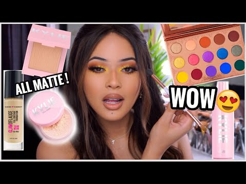 TESTING NEW 2019 HYPED MAKEUP | DRUGSTORE & HIGH END |Taisha thumbnail