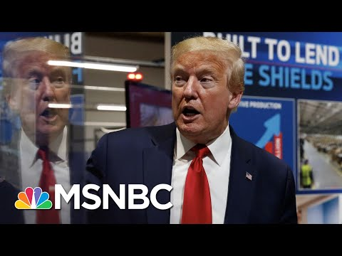 Trump Refuses Mask In Public As U.S. COVID-19 Deaths Top 95,000 | The 11th Hour | MSNBC