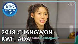 2018 CHANGWON K-POP WORLD FESTIVAL   2018 창원 케이팝 월드 페스티벌 [AOA]
