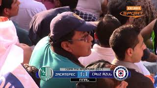 Resumen Zacatepec vs Cruz Azul Copa MX