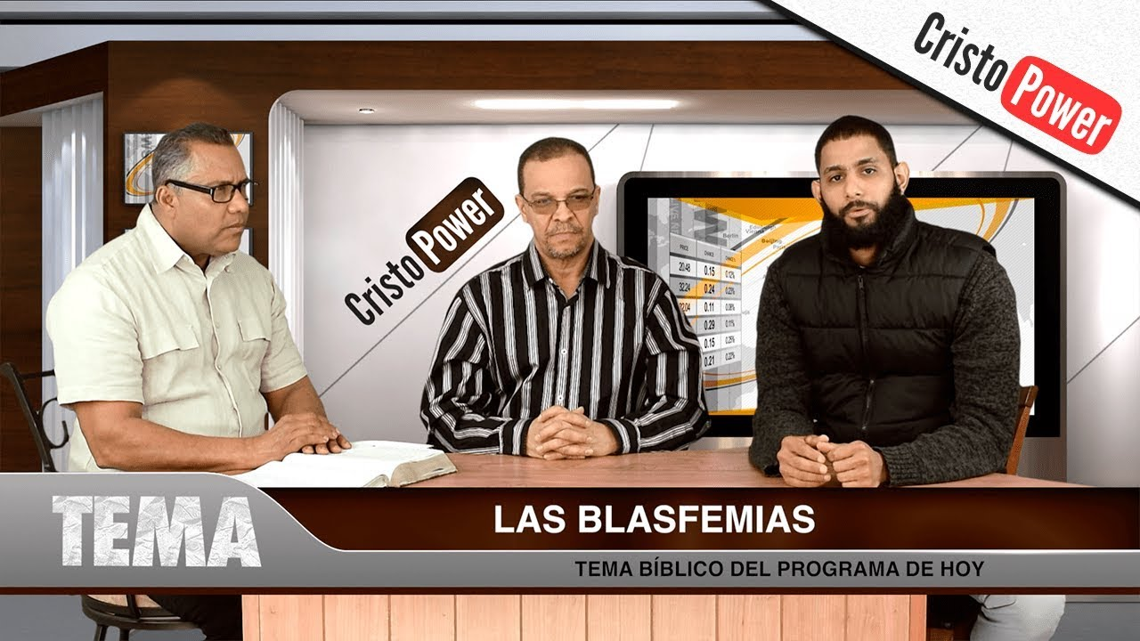 Las Blasfemias - Cristo Power TV