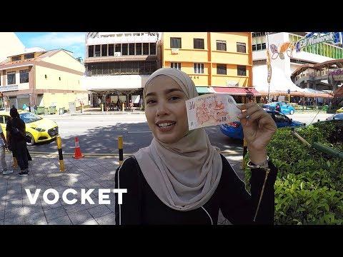 VOCKET MAKAN: Geylang Serai Bazaar di Singapura