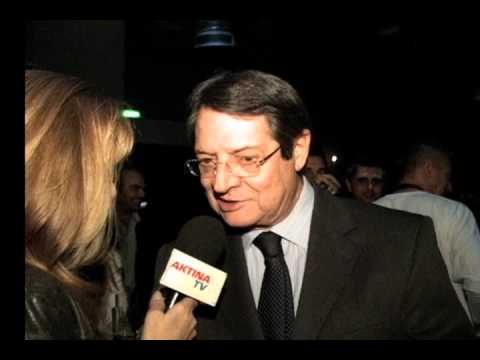 AKTINA TV's Coverage Cyprus Presidential Candidate Nicos Anastasiades