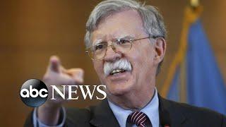John Bolton's lawyer says client has 'relevant' information on Ukraine | ABC News