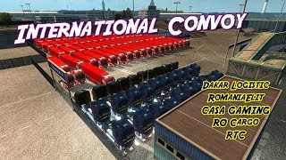 dakar logistic international convoy   romaniaelit casa gaming ro cargo rtc   timelapse