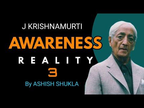 J Krishnamurti awareness 3 || in Hindi || Ashish Shukla from Deep Knowledge