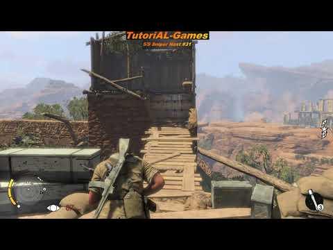 Sniper Elite 3 - Mission Confrontation - all Colectibles Location |