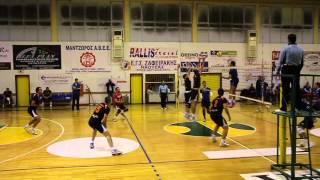 Βόλλεϋ ανδρών ΖΑΦ - Ηρακλής Θεσ/νίκης 0-3 2014