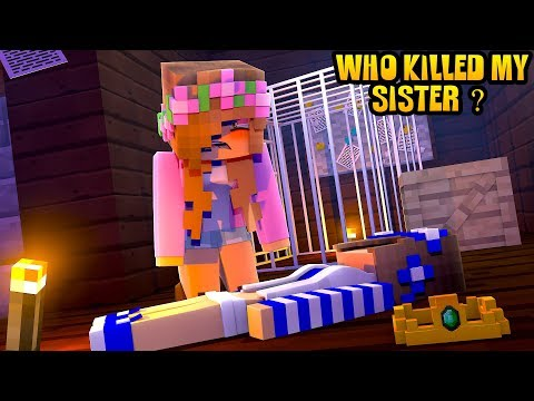 WHO KILLED MY SISTER LITTLE CARLY?! Minecraft Little Kelly Plays