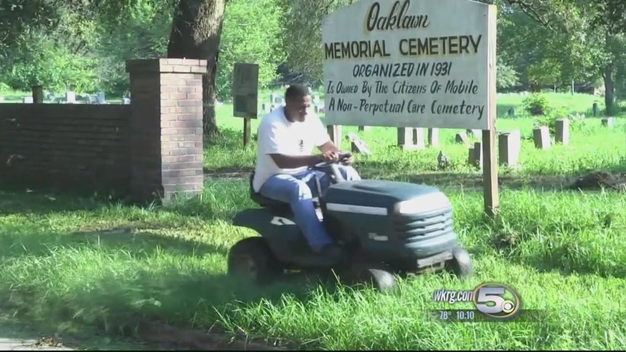 Oaklawn Memorial Cemetery Getting Clearer
