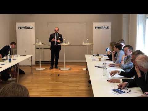 Konferens: Europas utmaningar, EU:s ansvar del 1