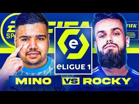 GRIZI MINO VS VITALITY ROCKY SUR FIFA 21 LORS D'UN TOURNOI AVEC 40,000€ A LA CLÉ