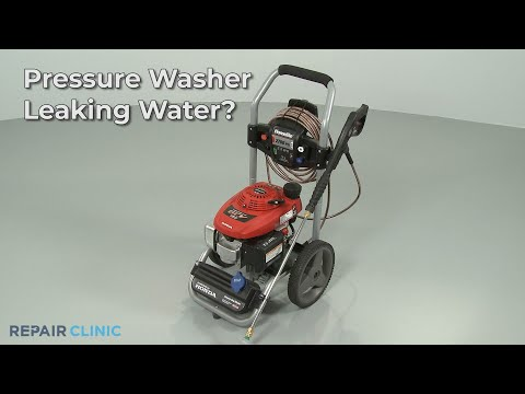 Pressure Washer Leaking Water? Pressure Washer Troubleshooting