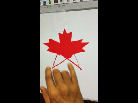 Live Drawing: Canadian Maple Leaf (for Canada Day)