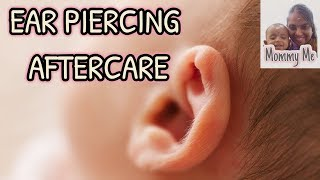 Ear piercing aftercare for babies Q & A in Tamil