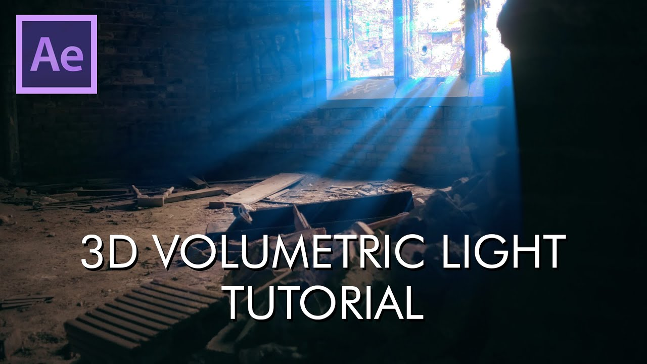 Download How to setup 3D Volumetric Light - After Effects Tutorial